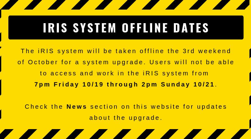 iRIS offline image