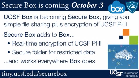 Secure Box UCSF