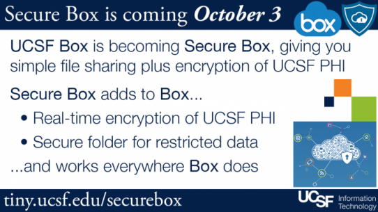Secure Box UCSF
