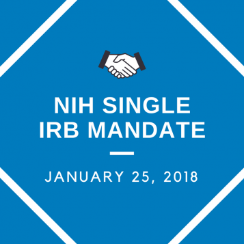NIH Single IRB Mandate at UCSF