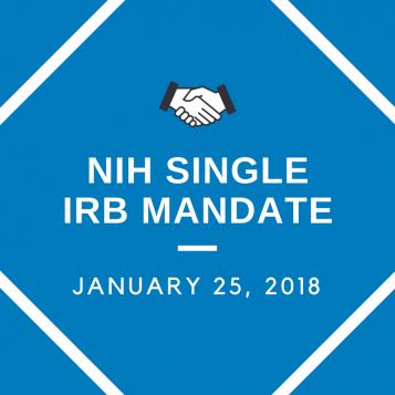 NIH Single IRB Mandate at UCSF